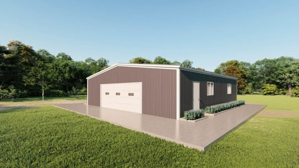 Base building packages 50x50 metal building rendering 3