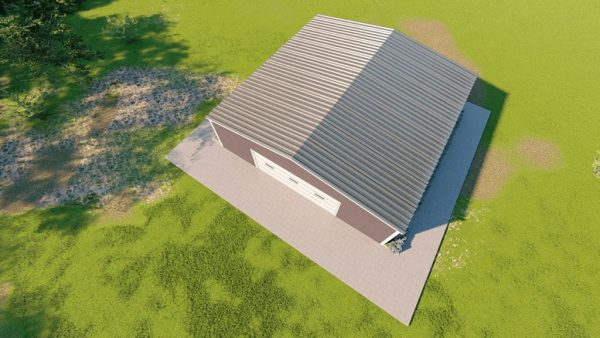 Base building packages 50x50 metal building rendering 6