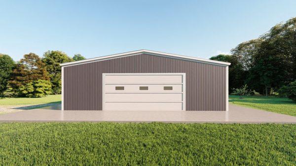 Base building packages 50x60 metal building rendering 2