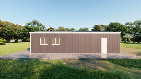 Base building packages 50x60 metal building rendering 5