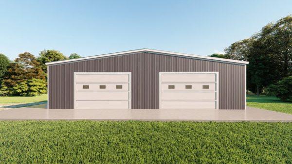 Base building packages 60x100 metal building rendering 2