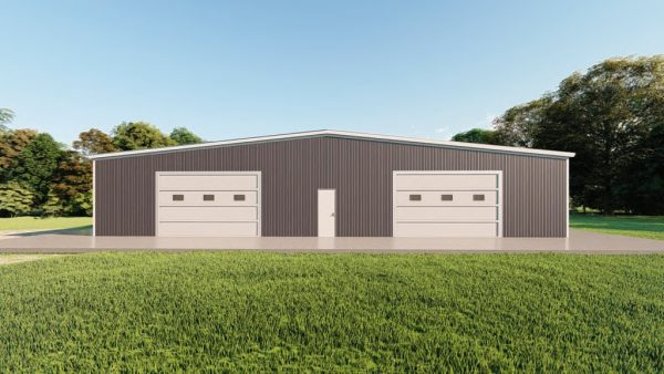 Base building packages 80x100 metal building rendering 2