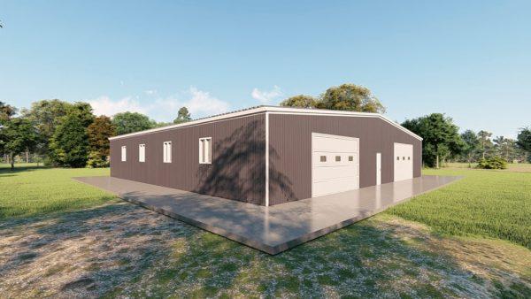 Base building packages 80x80 metal building rendering 4 1