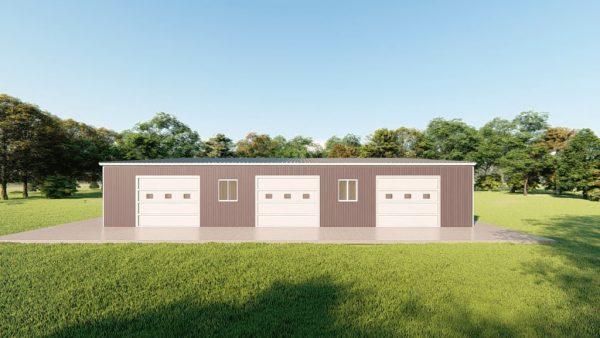 Base building packages 80x80 metal building rendering 5 1