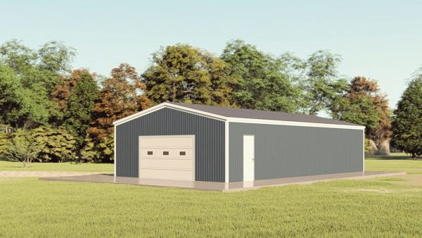 C channel building packages 30x52 c channel metal building rendering 1