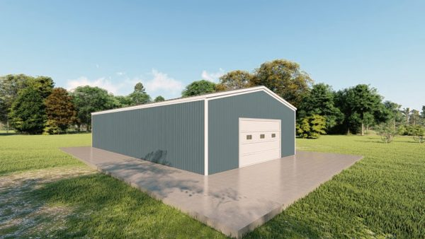 C channel building packages 30x52 c channel metal building rendering 4