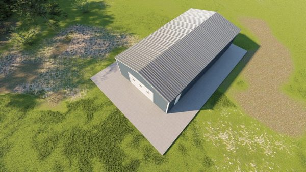 C channel building packages 30x52 c channel metal building rendering 6