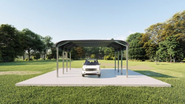 Carports 12x24 tube frame carports metal building rendering 2 1