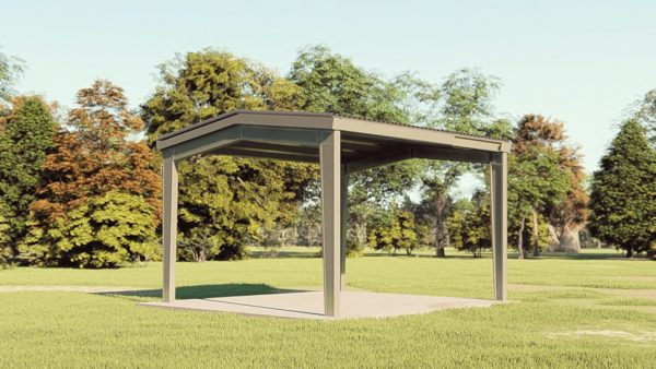 Carports 20x21 carport metal building rendering 1