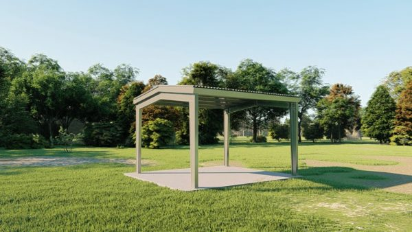 Carports 20x21 carport metal building rendering 3
