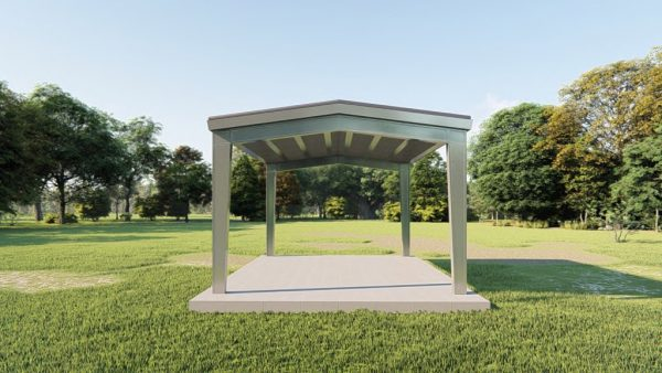 Carports 20x24 carport metal building rendering 2