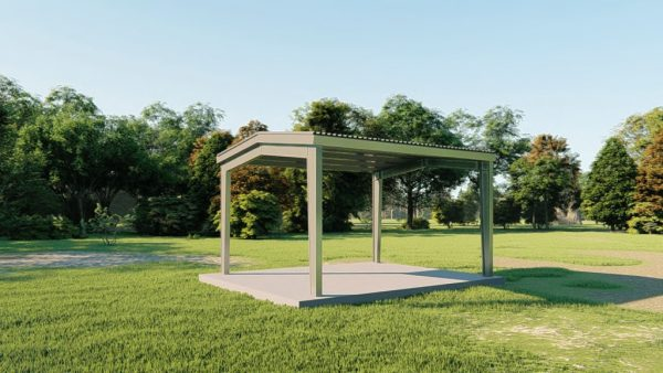 Carports 20x24 carport metal building rendering 3