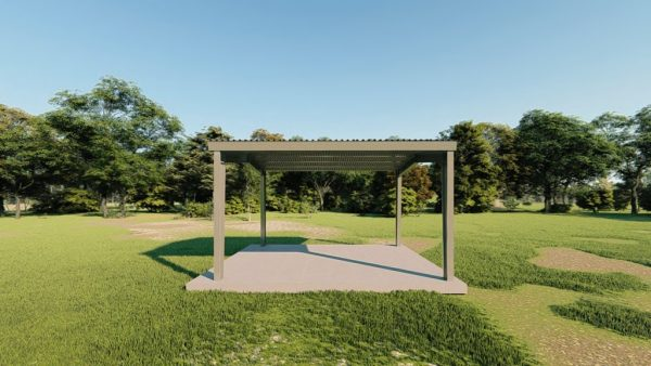 Carports 20x24 carport metal building rendering 5