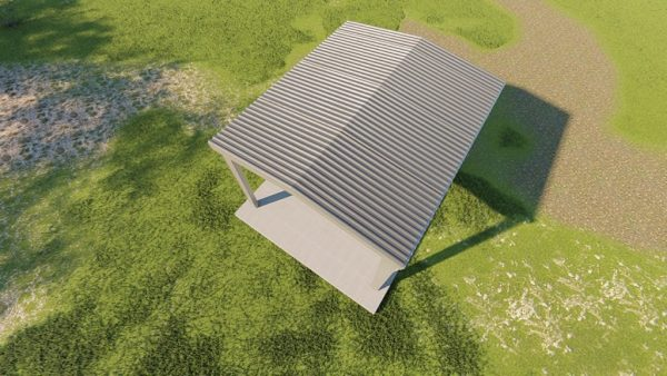 Carports 20x24 carport metal building rendering 6