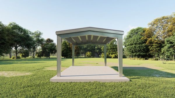 Carports 20x30 carport metal building rendering 2