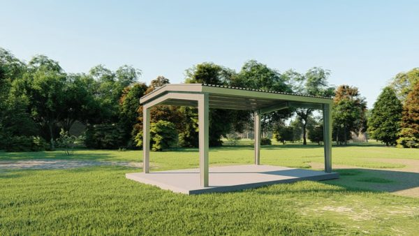 Carports 20x30 carport metal building rendering 3