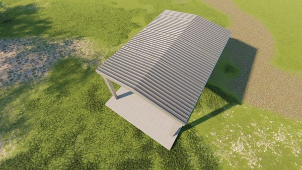 Carports 20x30 carport metal building rendering 6