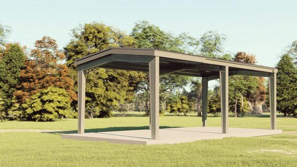 Carports 20x40 carport metal building rendering 1