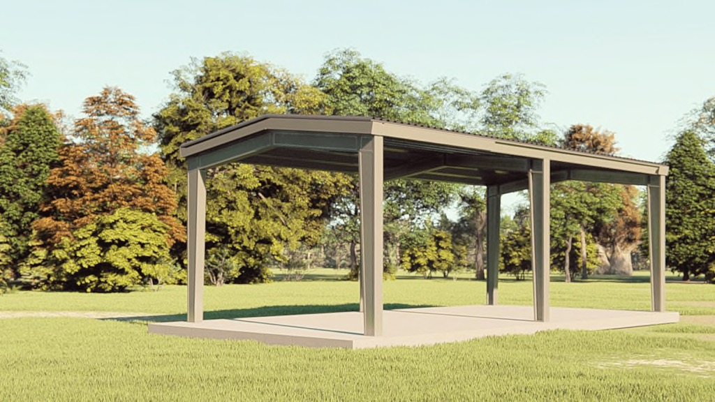 20x40 Carport Get A Price For Your Prefab Steel Building