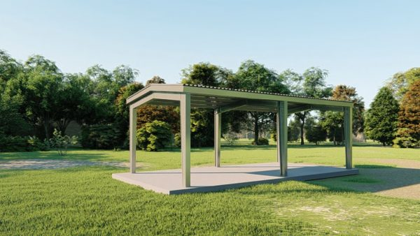 Carports 20x40 carport metal building rendering 3