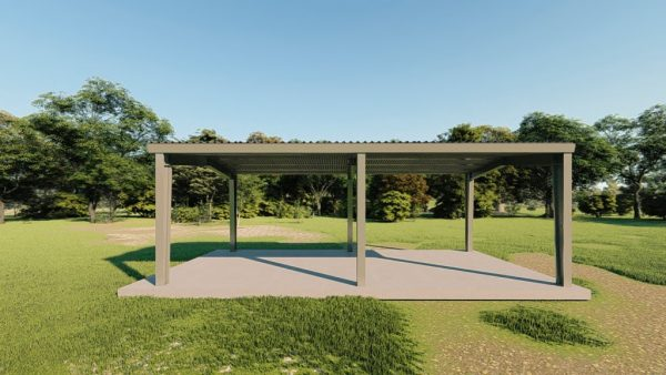 Carports 20x40 carport metal building rendering 5