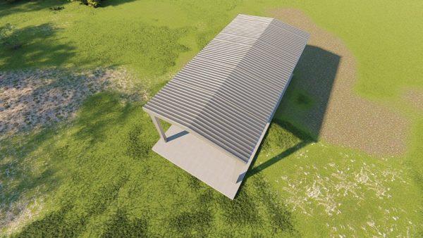 Carports 20x40 carport metal building rendering 6