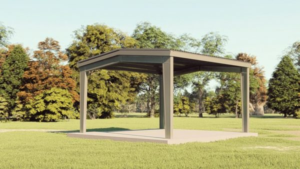 Carports 24x24 carport metal building rendering 1