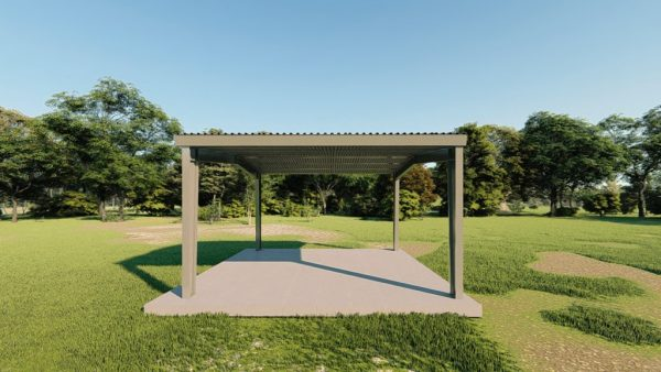 Carports 24x24 carport metal building rendering 5