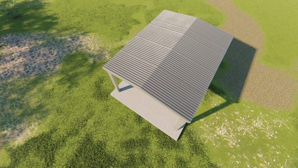 Carports 24x30 carport metal building rendering 6