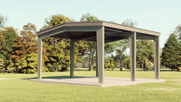 Carports 30x30 carport metal building rendering 1