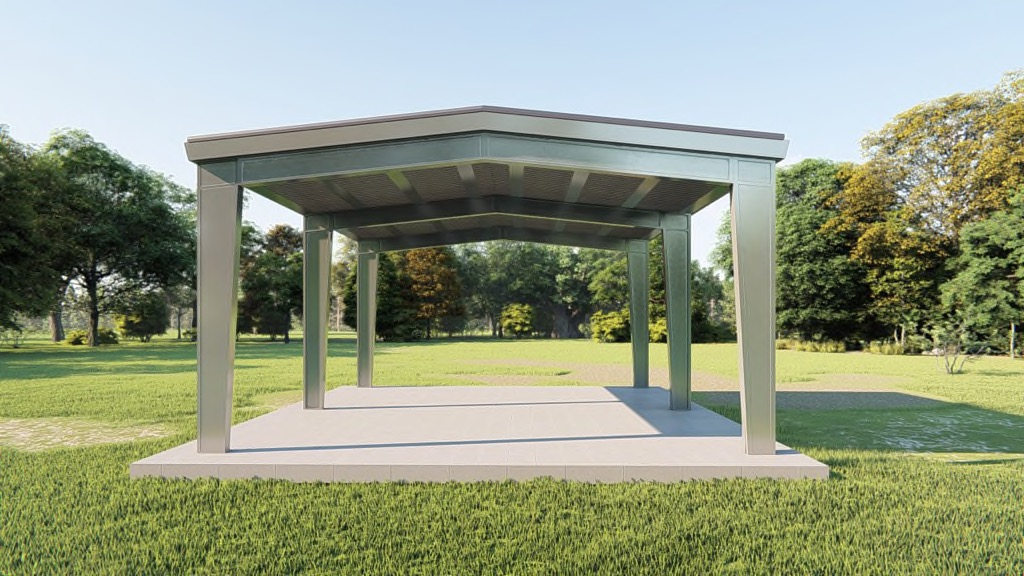 30x30 Carport Get A Price For Your Prefab Steel Building