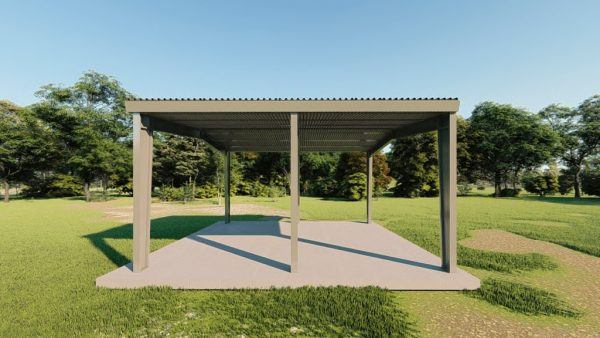 Carports 30x30 carport metal building rendering 5