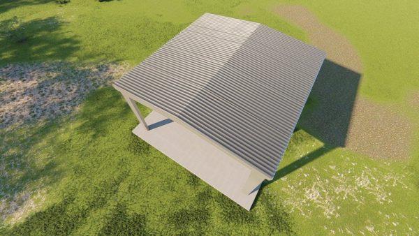 Carports 30x30 carport metal building rendering 6