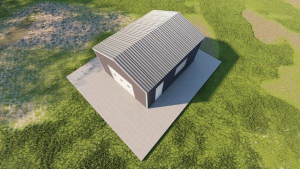 Garages 16x20 garage metal building rendering 6