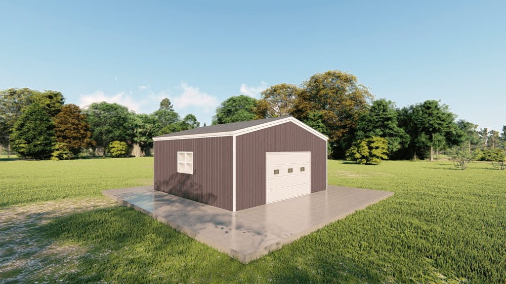 20x20 Metal Double Garage Kit: Compare Prices & Options