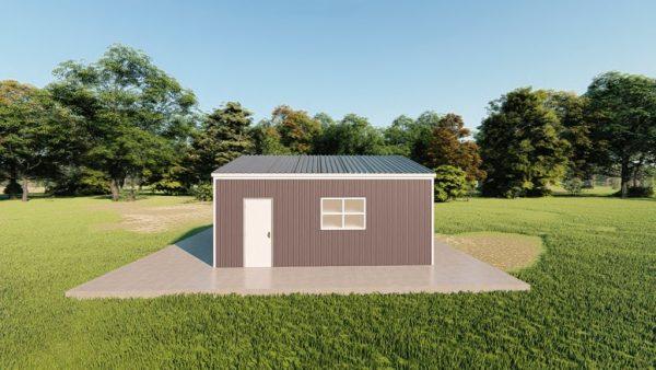 Garages 20x20 garage metal building rendering 5