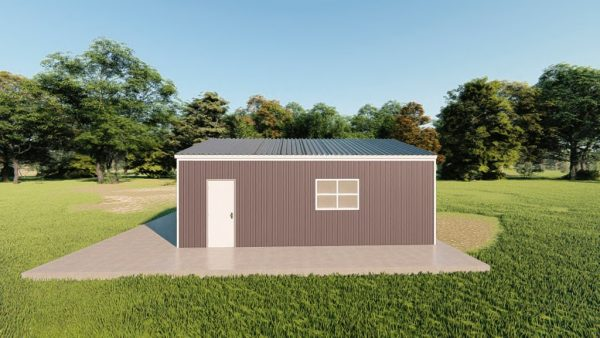 Garages 20x24 garage metal building rendering 5