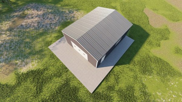 Garages 20x24 garage metal building rendering 6