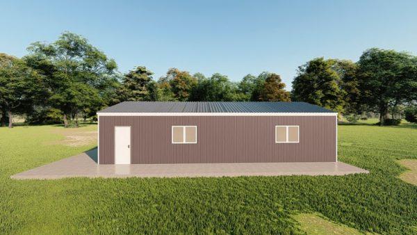 Garages 20x40 garage metal building rendering 5