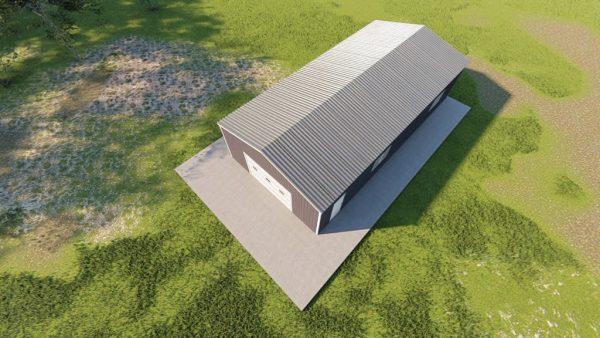 Garages 20x40 garage metal building rendering 6