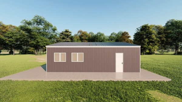 Garages 24x30 garage metal building rendering 5