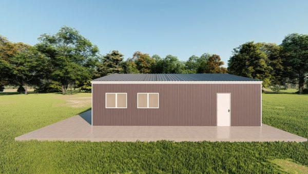 Garages 24x32 garage metal building rendering 5