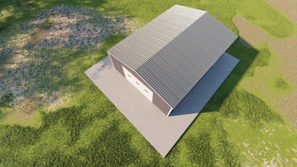 Garages 24x32 garage metal building rendering 6