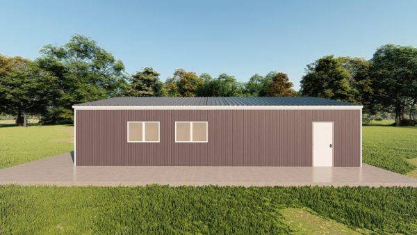 Garages 24x40 garage metal building rendering 5
