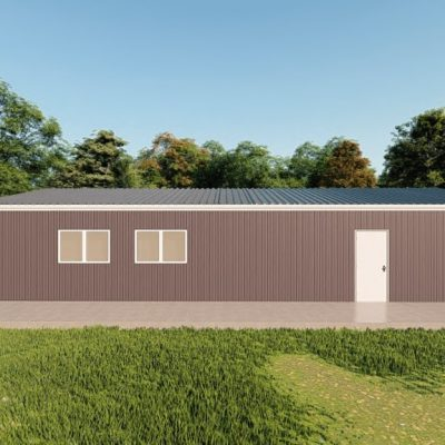 Garages 24x48 garage metal building rendering 5