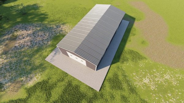 Garages 24x48 garage metal building rendering 6