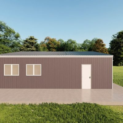 Garages 30x30 garage metal building rendering 5