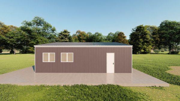 Garages 30x30 garage metal building rendering 5