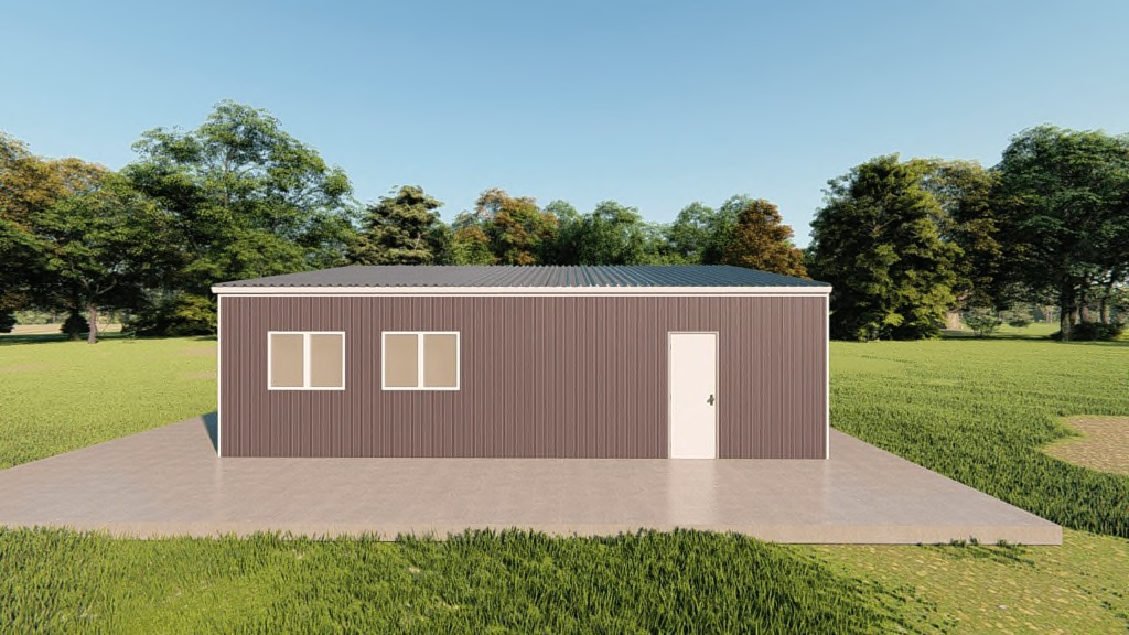 30x30 Metal Garage Kit Get A Price For Your Prefab Steel
