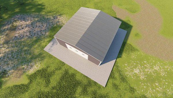 Garages 30x30 garage metal building rendering 6